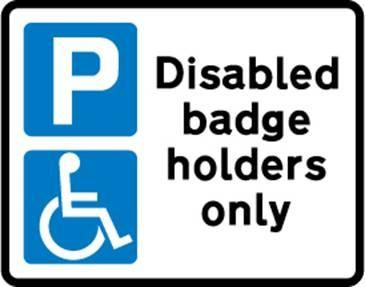 Blue Badges for Hidden Disabilities
